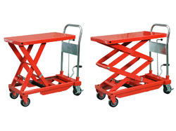 Double Scissor Lift Trolley