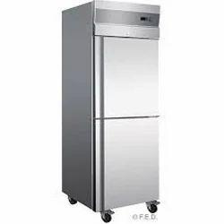 Stainless Steel Freezer Double Door
