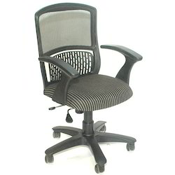 Low Back Half Mesh Chair
