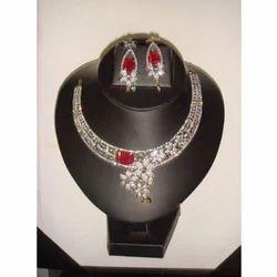 Stylish American Diamonds Wedding Jewelry