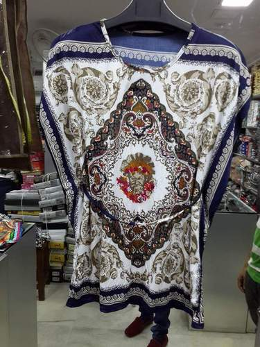 Fashionable Digital Printed Kaftan
