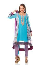 Semi Indo Western Party Wear Kurti Tunic