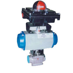 Actuator Operated Ball Valves