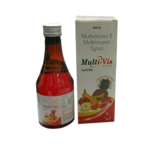 Multivitamin and Multimineral Syrups