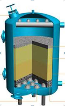 Water Filters Dual Media Filter Manufacturer From Ahmedabad
