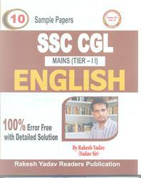 SSC CGL Mains Tier-II English 10 Sample Papers