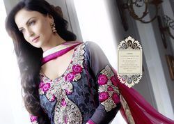 elli avram zubeda exclusive designer shiffli work dress