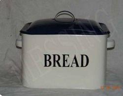 Galvanized Bread Box