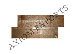 Copper Quartzite Stone Wall Cladding Panel