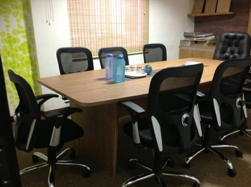 Wooden Office Tables Meeting Table Manufacturer From Pune - 10 seater conference table