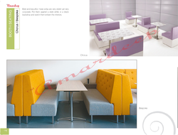 Booth Seating - Chorus / Bespoke