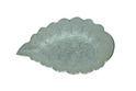 Leaf Design Silver Plate