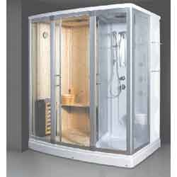Rectangular Combi Steam & Sauna Shower Cabin