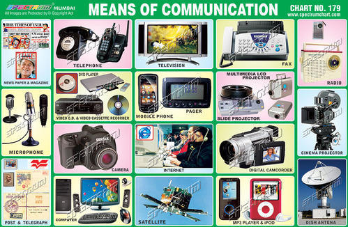 do modern means of communication make Means of communication are the most necessary part of modern lifestyle in modern age, there are many types of means of communications artificial satellites are used to communicate with very distant locations they are used to live-telecast matches and other programmes to all over the world.