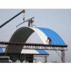 Self Supported Dome Fabrication