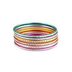 Colorful Aluminum Bangles
