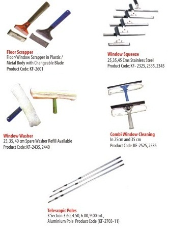 Housekeeping Chemicals & Tools - Window Cleaning Equipments Wholesale ...