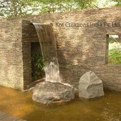 Rock Outdoor Waterfalls