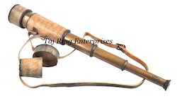 Brass Telescope With Cover