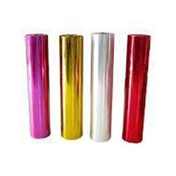 Colored Metalized Polyester Films
