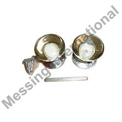 Glass Door Knobs Spindle Set