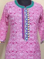 Pink Ethnic Kurti