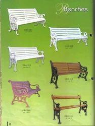 Various Garden Cast Iron Benches