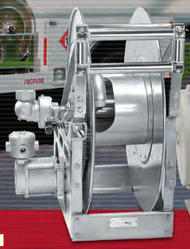 LP Gas Hose Reel