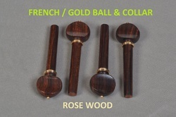 Gold Ball and Collar Pegs