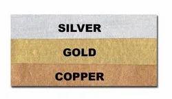 Handmade Metallic Paper