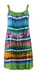 Tie & Dye Short Dress