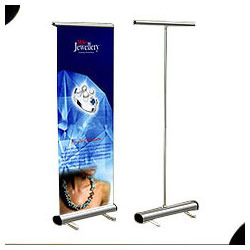 Roll Up Stands Manufacturer from Hyderabad