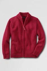 Zipper Uniform Sweater