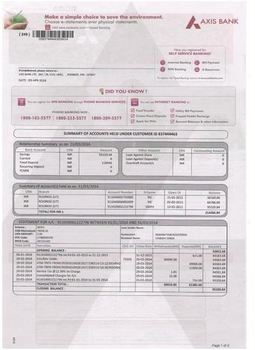 Transaction Printing  Variable Data Printing  Bank Statements
