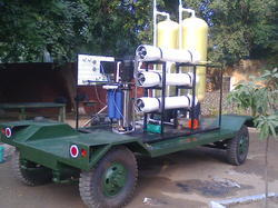 mobile ro water treatment plant