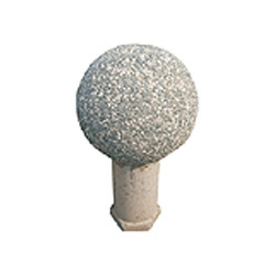 Exposed Aggregate Spherical Bollard