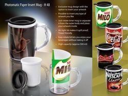 Paper Insert Mug
