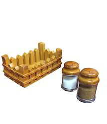 Salt Paper Shaker Set