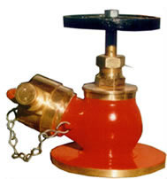 Single Headed Oblique Type Hydrant Valve
