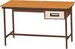 Single Drawer Metal Table