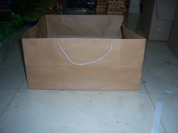 Brown Paper Bags For Cake Shops And Bakeries