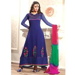 Soothing Royal Blue Anarkali Suit