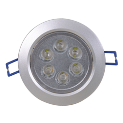8W LED Dome - Round Recess Mounting Spot / Down-light