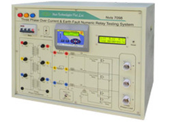 Three Phase Over Current & Earth Fault Numeric Relay Testing
