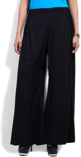 Black Palazzo Pants for Ladies