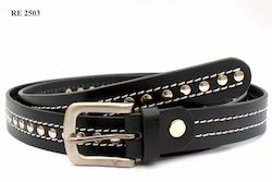 Black Designer Belts