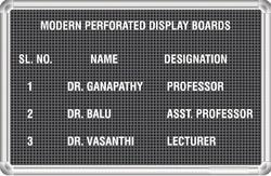Perforated Display Board