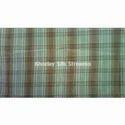 Silk Checked Fabric