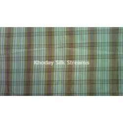 Silk Checked Fabric