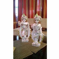 Beautiful Makrana Marble Radha Krishna